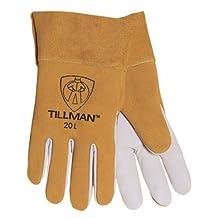 Tillman Welding Gloves - Kidskin & Cowhide TIG Glove w/2 Inch Cuff 20 by John Tillman and Co