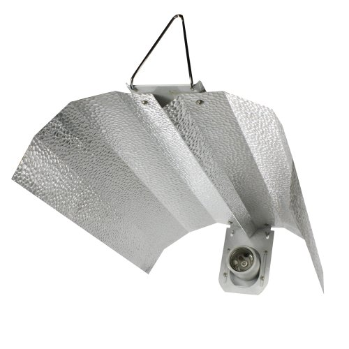 (Apollo Horticulture GLRGW19 Gull Wing Hydroponic Grow Light Reflector)
