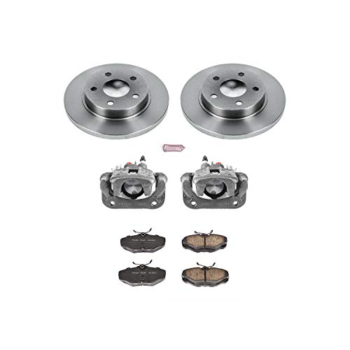 Power Stop KCOE1298 Rear Stock Replacement Brake Kit with - Rear Wheel Lincoln Continental