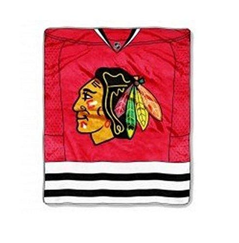 50x60 Royal Plush Blanket (NHL Chicago Blackhawks Royal Plush Raschel Blanket, 50 x 60-Inchesnhl Royal Plush Raschel Blanket, 50 x 60