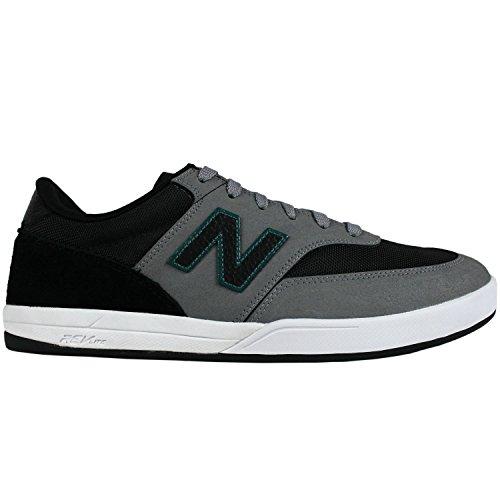 NEW BALANCE NUMERIC Skateboard Shoes ALLSTON 617 GUNMETAL BLACK Size 12