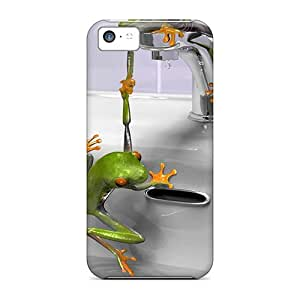 New Cute Funny Frogs Cases Covers/ Iphone 5c Cases Covers