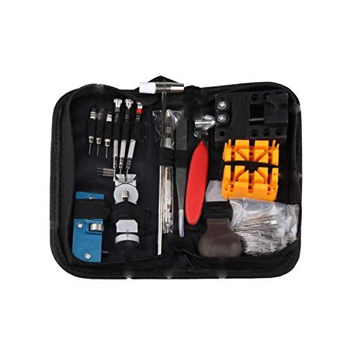 Kissbuty Watch Repair Kit ,Professional Spring Bar Tool Set Watch Band Link Pin Tool Set with Carrying Case