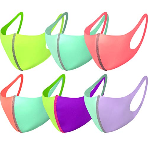 Light Weight Unisex Adult Fashion Face Covering, Reusable, Dust Proof, Washable, Cool 5 Mixed Colors