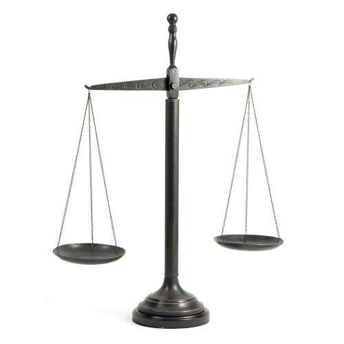 Bey-Berk International 21.5H in. The Justice Scale ()