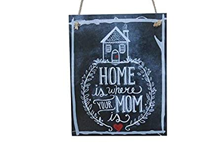 Brooer2ick Home is Where Your Mom is Chalk - Cartel de Tiza ...