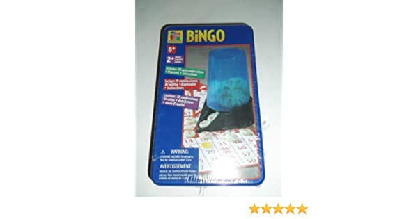 Amazon.com : BINGO Game by Pavilion (ages 6 on up) : Bingo Sets : Sports & Outdoors