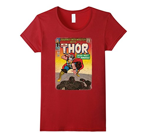 Marvel+Comics+Retro+Shirt Products : The Mighty Thor Journey Into Mystery Retro Comic T-Shirt