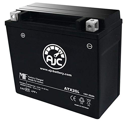 Harley-Davidson FXD/FXST Series (Dyna) 1340CC Motorcycle Replacement Battery (1997-1999) - This is an AJC Brand Replacement
