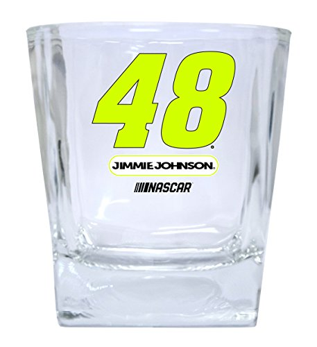 Jimmie Johnson #48 Short Glass Tumbler Set of 2 - Jimmie Johnson Set