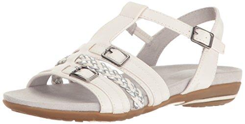 Sandalias Planas Easy Street Para Mujer Parker Blancas
