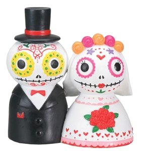 DOD Day Of The Dead Wedding Couple Decoration