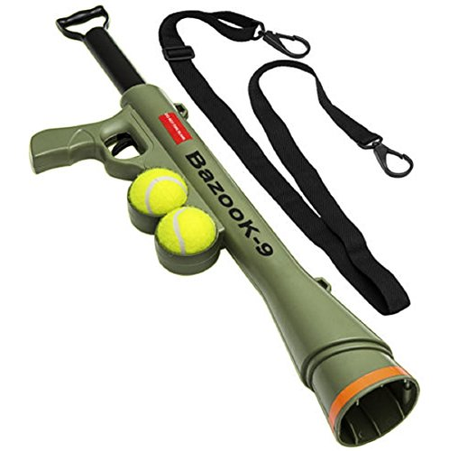 Dog Launcher Ball Tennis Automatic Pet Fetch Toy Training Throw Play Outdoor