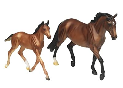 Breyer Traditional Series GG Valentine and Heartbreaker from Breyer