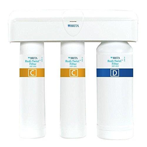 Brita Redi-Twist Purifier 3-Stage Drinking Water Filtration System by Brita