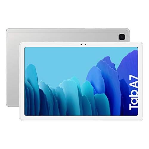 chollos oferta descuentos barato SAMSUNG Galaxy Tab A 7 Tablet de 10 4 WiFi Procesador Octa Core Qualcomm Snapdragon 662 3GB de RAM 64GB de Almacenamiento Android actualizable Color Silver Versión española