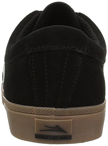 Lakai Men's Black White Shoe Skate Suede Sheffield wHTwqzxO