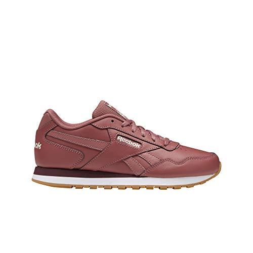 Reebok Women's Classic Harman Run Shoe, Rose/Pink/lux/White/Gum 7.5 M US (Lux White Shoes)