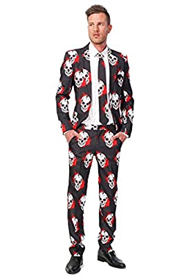 Suitmeister Men's Basic Stars and Stripes Suit, Large