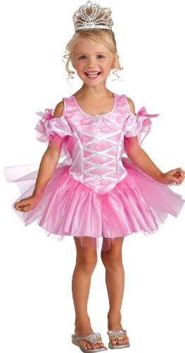 [Deluxe Toddler Tiny Dancer Costume, Toddler] (Ballerina Costumes For Toddler)
