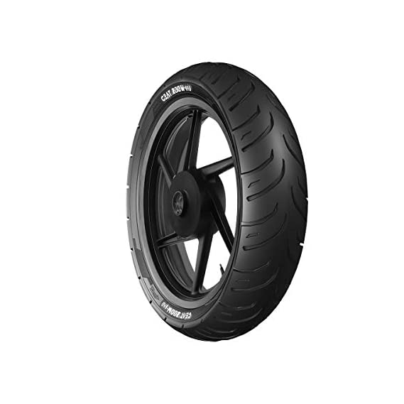 Ceat Zoom-Rad 140/60 R17 63P Tubeless Bike Tyre, Rear