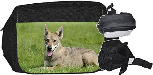 +++ SAARLOOS WOLFHUND Wolfhound - GÜRTELTASCHE Bauchtasche Futterbeutel HÜFTTASCHE Tasche - SAW 04