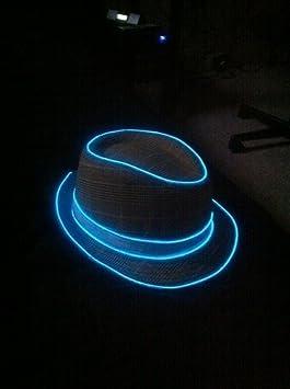 azul Tira de Luces 9ft LED Neon de colores,Mangueras Flexibles YiYunTE Iluminaci/ón de Tira con Controlador Box,2 AA Pilas Funcionado