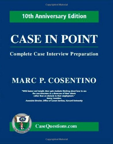 Case in Point Complete Case Interview Preparation