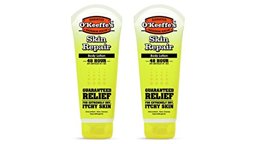 Repair Moisturizing Body Lotion (O'Keeffe's Skin Repair Body Lotion and Dry Skin Moisturizer, Tube, 7 oz, (Pack of 2))