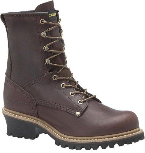 - Men's Carolina N/S Logger Boots Briar, Briar, 16