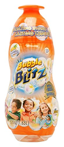 Bubble Blitz Bottle of Scented Bubbles, 55 - Great Mall Ca Hours