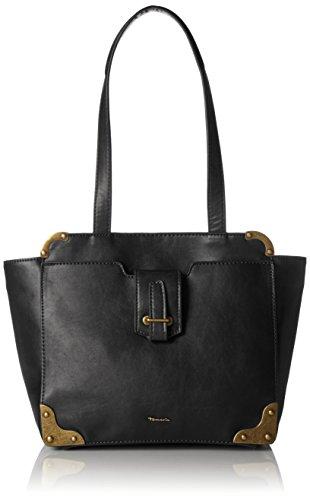 Tamaris Mette Shoulder Bag - Shoppers y bolsos de hombro Mujer Negro (Black Comb.)