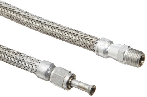 Hose Master Annuflex Stainless Steel 316 Flexible Hose Assembly, 1-1/4