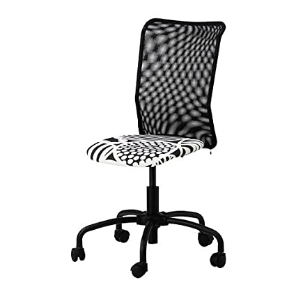 IKEA Torbjörn - Silla giratoria, negro: Amazon.es: Hogar