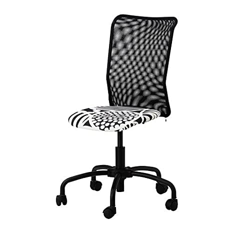 Ikea torbjorn - Silla de Oficina giratoria, Color Negro: Amazon.es: Hogar