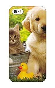 Premium BvlhJSO3802tZJlf Case With Scratch-resistant/ Puppy Dog Animal Free Case Cover For Iphone 5/5s