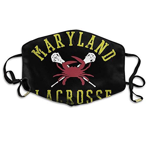 SGBTJKU Maryland Lacrosse Anti-dust Breathable Health Anti Pollution Windproof Mouth Masks
