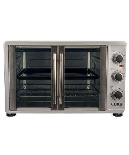 - Luby GH55-H Toaster Oven, 55 L, White