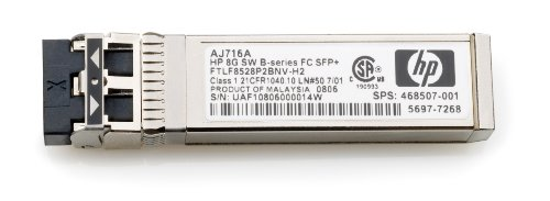 HP AJ716A 8GB Shortwave B-series Fiber Channel 1 Pack SFP+ Transceiver by HP