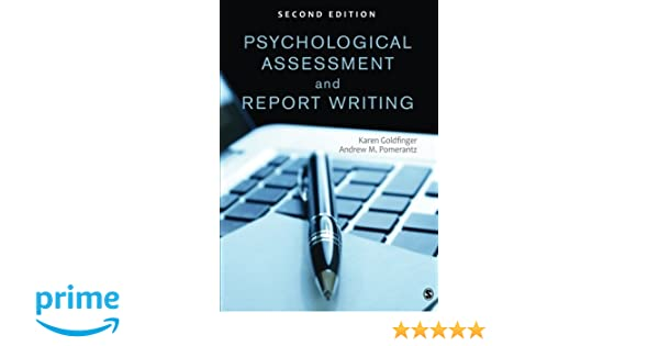 AmazonCom Psychological Assessment And Report Writing Volume