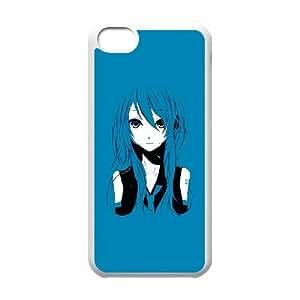 iPhone 5c Cell Phone Case White AnimeGirl KI5071077
