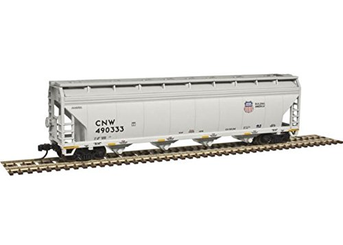 - Atlas Trainman N 50003533 ACF 5250 Covered Hopper, Union Pacific #490333