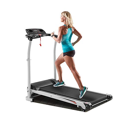 ARCCQI Folding Electric Treadmill Running Machine Smart Digital Folding Exercise Machine for Home Use