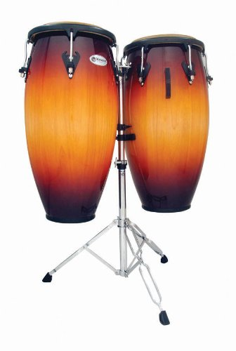 Lp Matador 11'' & 11 3?4'' Conga Set W/ Std Vint Sunbrust by Latin Percussion