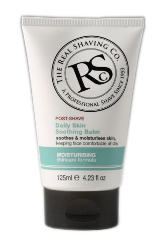 The Real Shaving Company Post Shave Soothing Balm Moisturising Sking Care Formula 100ml by Real Shaving Company