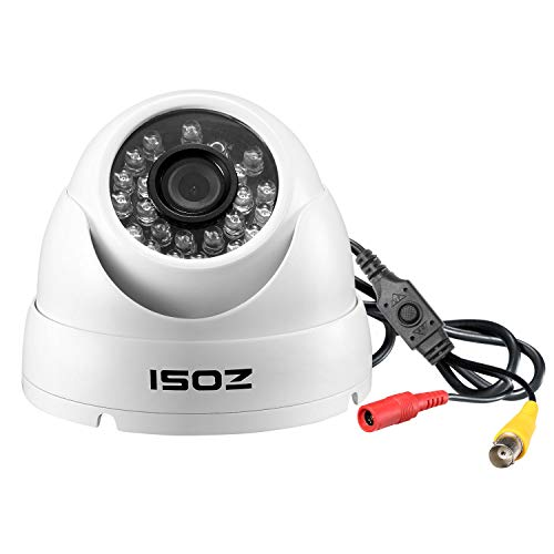 - ZOSI 1080P Dome Security Cameras (Hybrid 4-in-1 HD-Cvi/Tvi/Ahd/960H Analog Cvbs), 1920TVL Day Night Weatherproof Indoor/Outdoor Dome Camera HD, Night Vision Up to 65Ft(20M)
