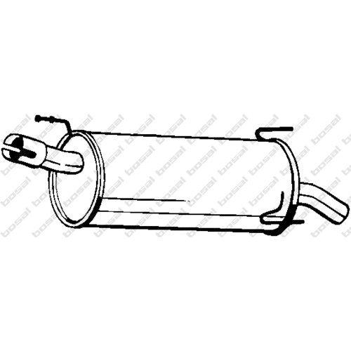 Bosal 185-959 Endschalld/ämpfer