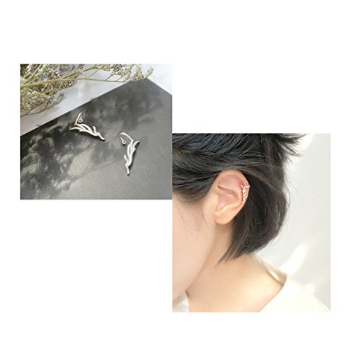 Horn Clip Earrings - 6