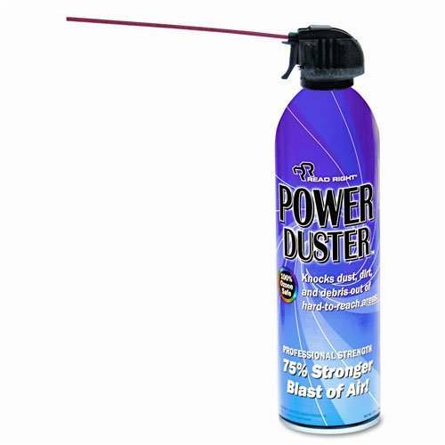 Read Right : Power Duster, 10oz Can -:- Sold as 2 Packs of - 1 - / - Total of 2 Each by Read Right (Image #1)
