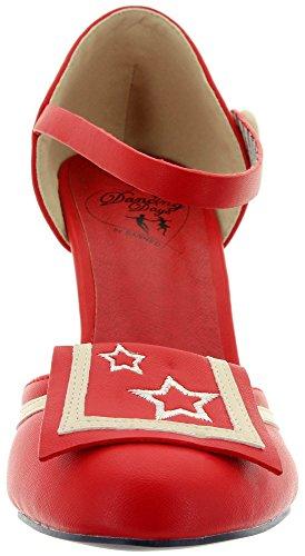 Days Escarpins Dancing Femme Pour Rouge dnzvwYxZv